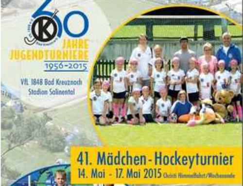 41. Mädchen-Hockeyturnier ein großer Erfolg