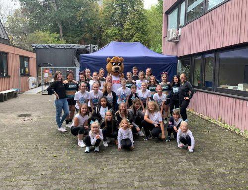 Cheerleading-Teilnahme am Ehrenamtstag 2021
